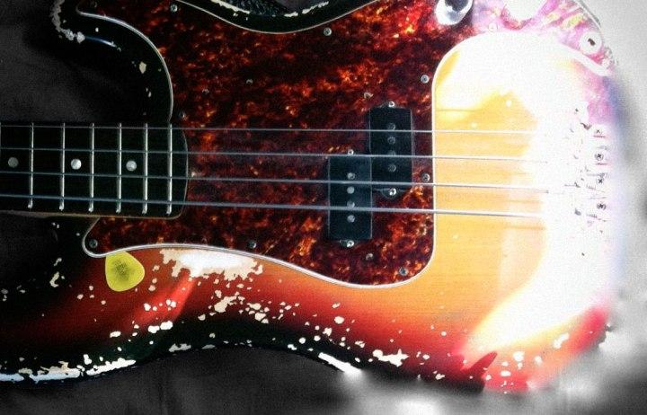 Torben Westergaard's Fender Bas